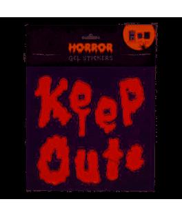 Stickers muraux Gel Keep Out