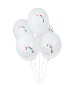 5 Ballons Licorne