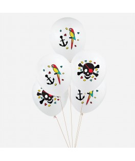 5 Ballons Pirate