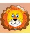Ballon Animal tête de Lion alu - 76 cm