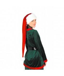 Bonnet de Noel extra long rouge