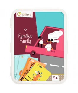 Jeu de cartes 7 Familles Les Transports