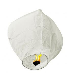 Lanterne volante Balloon blanche