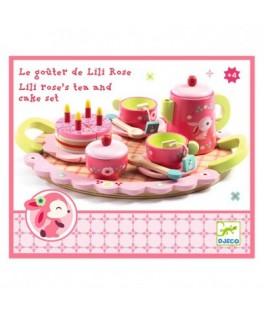 Jeu d'imitation - Le goûter de Lili Rose - DJECO