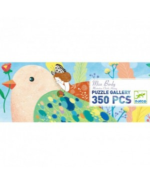 Puzzle Gallery MISS BIRDY - 350 pièces - DJECO