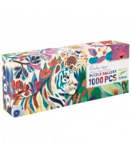 Puzzle Gallery RAINBOW TIGERS - 1000 pièces - DJECO