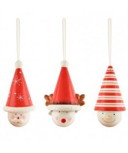 Suspension Ceramique Noel