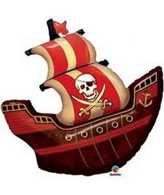Ballon Anniversaire Bateau Pirate