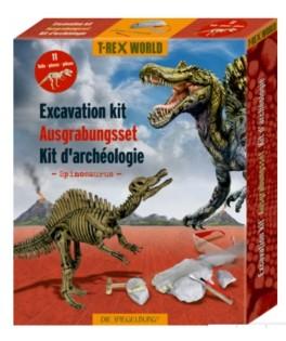 Kiit de fouilles archéologiques Spinosaurus T-REX