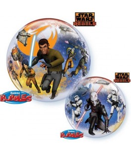 "Ballon single Bubble Star Wars Rebels (22"" - 56 cm)"