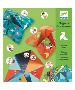 Origami cocottes à gages Animaux - Djeco