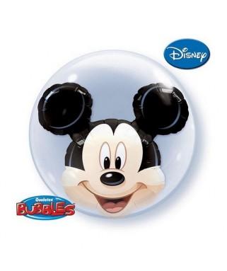 ballon double bubble minnie mouse anniversaire