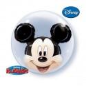 Ballon double Bubble Mickey Mouse