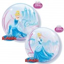 "Ballon single Bubble Bal Royal de Cendrillon (22"" - 56 cm)"
