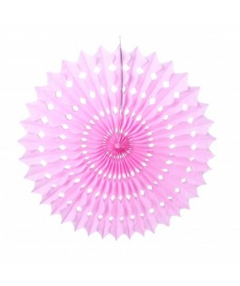 Mini éventail bubble gum 20 cm