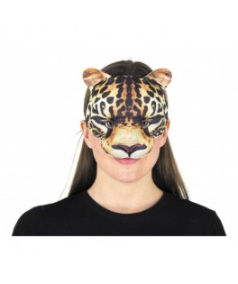 Masque réaliste Leopard