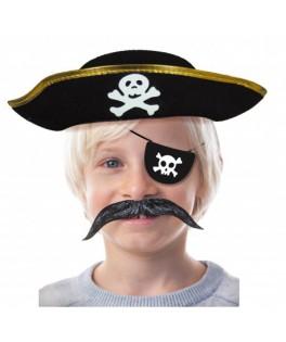 Chapeau Pirate enfant noir