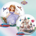 Ballon single Bubble princesse Sofia The First Disney