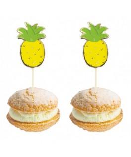 10 Pics à cocktail Ananas