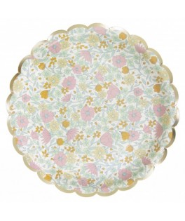 Assiettes Shabby & or