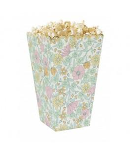 8 Boîtes à popcorn Shabby & or