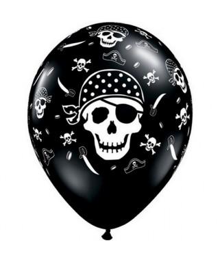 ballons tete de mort pirate