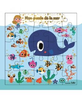 Carte Puzzle Fonds marins
