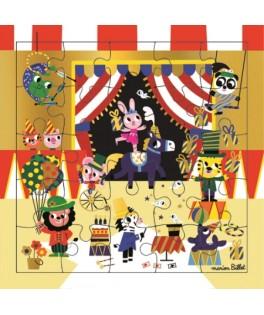 Carte Puzzle Cirque