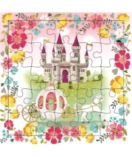 Carte Puzzle Royaume de Princesses