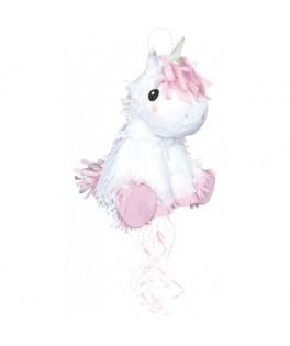 Piñata Baby Licorne blanche