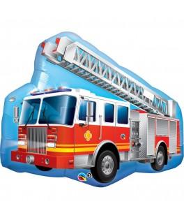 Ballon Camion de pompier