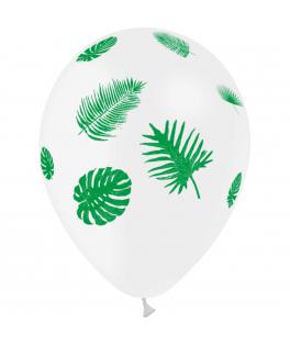 8 ballons tropiques