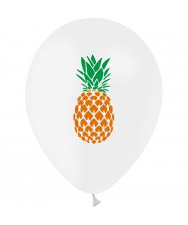 8 ballons Ananas
