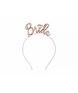 Serre-tête Bride rose gold