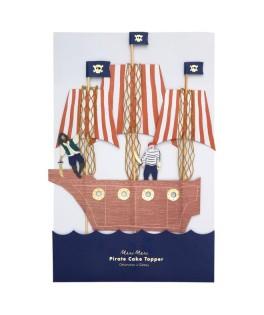 Cake Toppers Bateau de Pirates