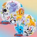 Ballon Bubble  Animaux de la Jungle - 56 cm