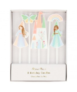 5 Bougies Princesse Magique