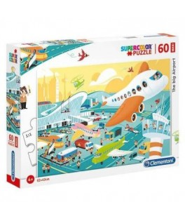 Puzzle The Big Airport 60 Pièces