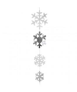 Guirlande suspendue Flocons de neige