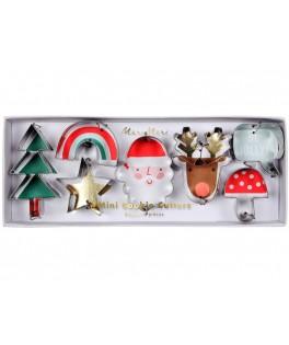 7 Emporte pièces Mini icônes de Noël