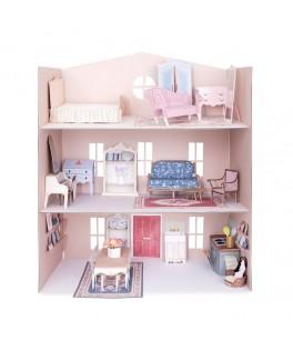 Maison de mini poupées