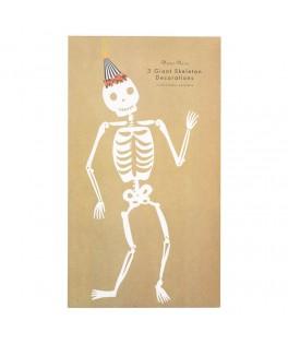 3 squelettes géants à suspendre