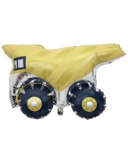 Ballon mylar Tracteur de chantier