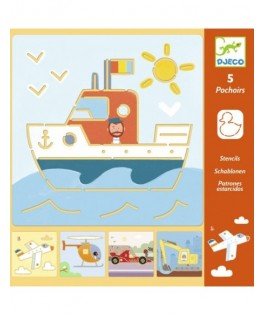 Pochoirs Transports & Co - DJECO
