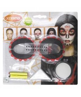 Set Maquillage Halloween Jour des Morts