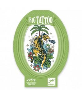 Tatouage éphémère Big Tattoo - Tiger