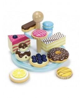 Service à gâteaux La ronde des desserts - VILAC