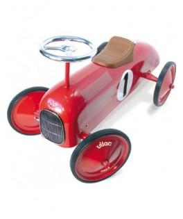 Porteur voiture vintage rouge - VILAC