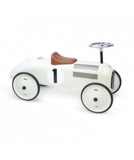 Porteur voiture vintage blanc crème - VILAC
