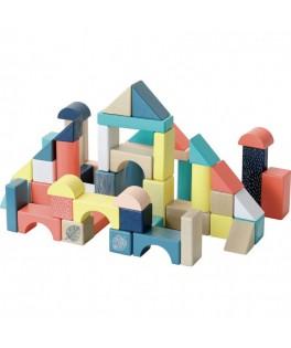 Baril de 54 cubes - Sous la Canopée - VILAC